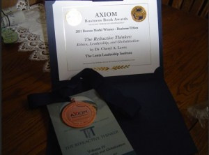 2011 Bronze Axiom Award RT Vol IV