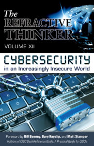 Refractive Thinker XII Cybersecurity coverForeword